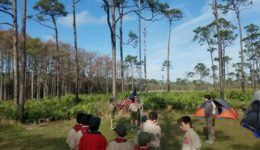 Campout at Jonathan Dickinson State Park
